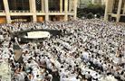 紐約舉行年度白色長街宴 數千人參加場面壯觀