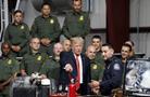 特朗普赴亞利桑那州 參觀美國海關與邊境保護局設備
