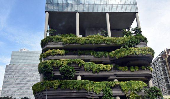 """新加坡:花園城市中那些""""奇奇怪怪""""的建築"""