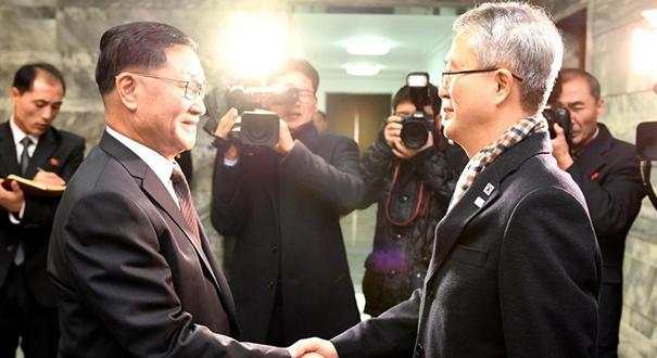 朝韓就朝方藝術團訪韓達成一致(組圖)