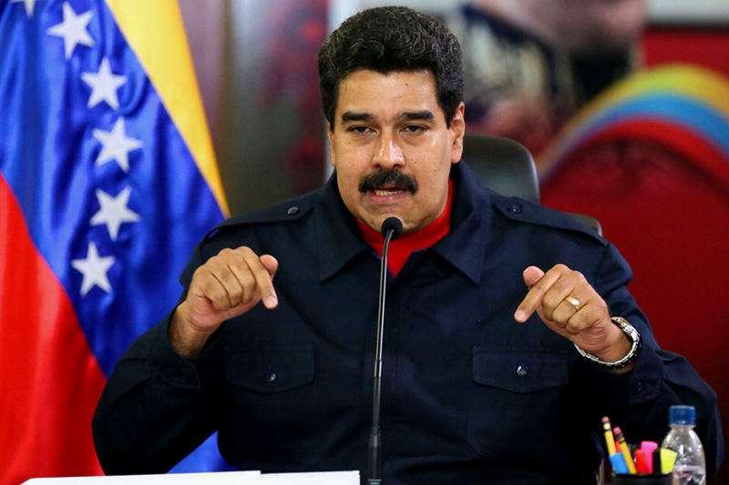 """美禁購委內瑞拉""""石油幣"""" 馬杜羅:違反國際法"""