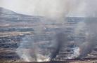 叙利亚军事基地遭空袭 外媒:或为美国更大战争的路演
