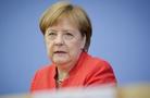 德國總理默克爾出席年度夏季新聞發布會