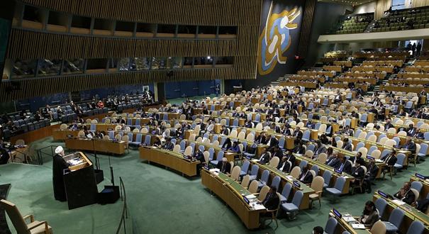 """伊朗總統稱美國對伊朗的""""敵對政策""""注定失敗"""