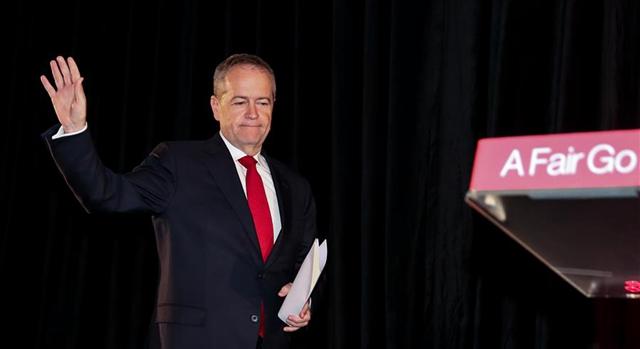 澳大利亞工黨領袖宣布敗選