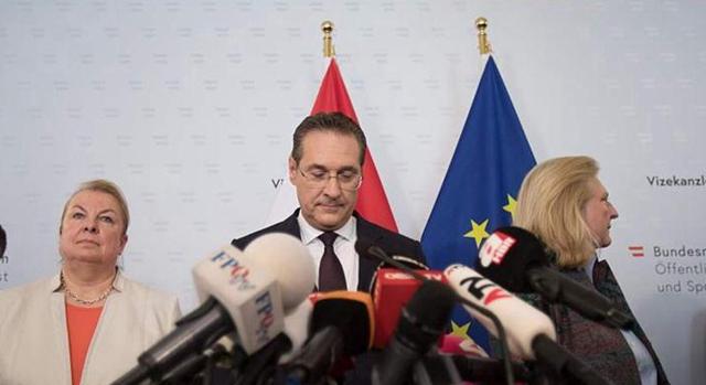 奧地利副總理因貪腐醜聞宣布辭職