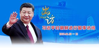 習近平對朝鮮進行國事訪問