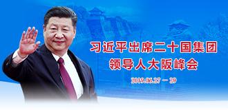 習近平出席二十國集團領導人大阪峰會