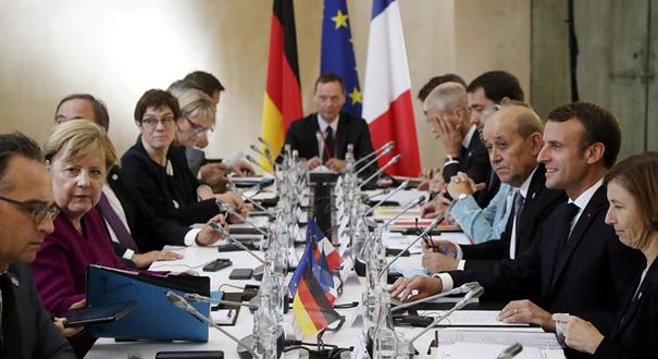 法德領導人在圖盧茲出席聯合部長級會議