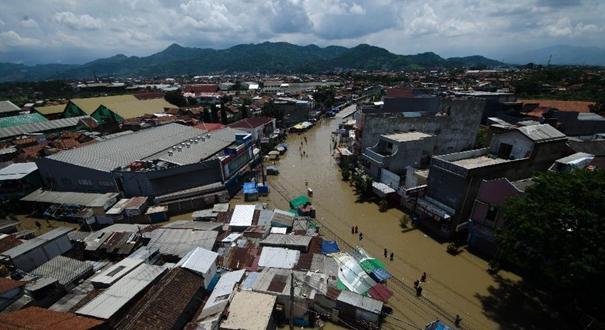 印度尼西亞:洪水來襲