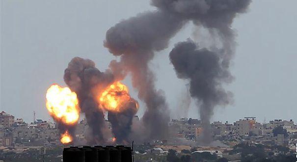 以色列空襲加沙地帶傑哈德軍事目標