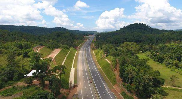 中企承建斯裏蘭卡南部高速公路延長線全線通車