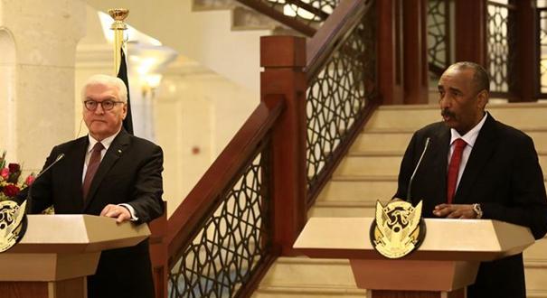蘇丹和德國領導人表示願加強雙邊關係