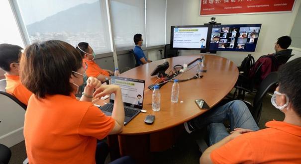 中國醫療專家組在委內瑞拉舉行新冠肺炎疫情防控知識線上講座