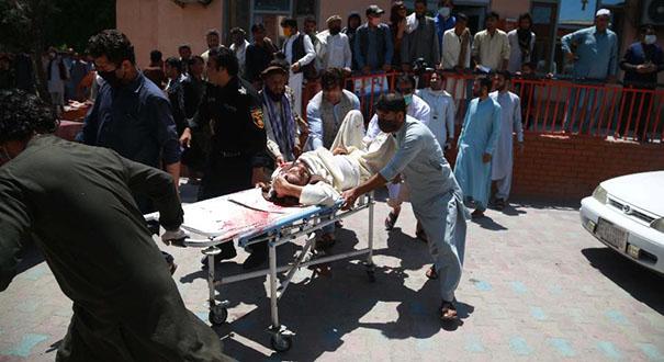 阿富汗東部發生自殺式襲擊事件