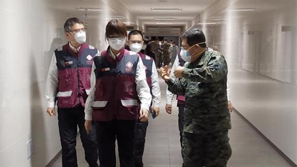 中國醫療專家組走訪秘魯部隊醫院