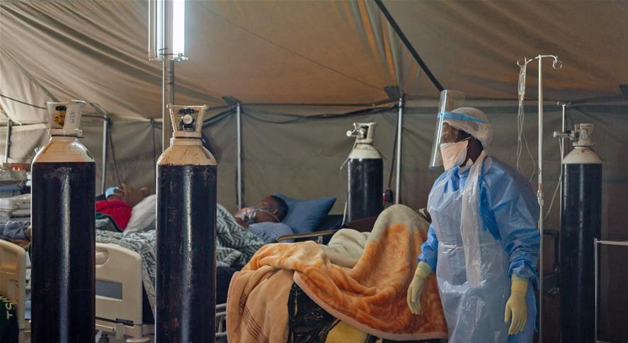 南非新冠確診病例近24萬