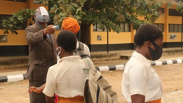 尼日利亞拉各斯部分學生復課