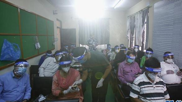 尼泊爾:教師的網課培訓