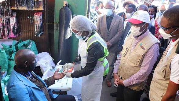 莫桑比克在首都開啟新冠流行病學調查