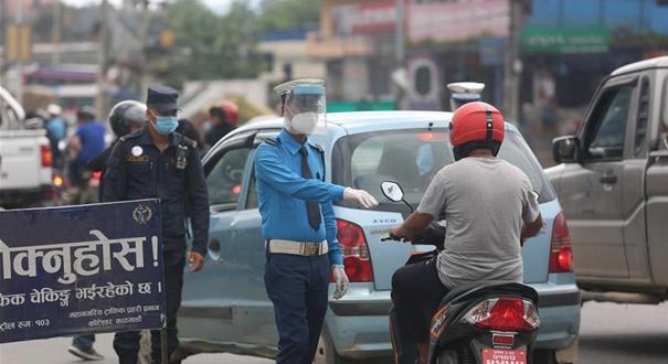 """尼泊爾實施""""半封鎖""""政策應對疫情反彈"""