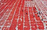 俯瞰土耳其晾曬番茄壯觀景象 滿眼火紅如鋪上紅色地毯