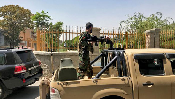 阿富汗命运转折 美国重金养的军队为何兵败如山倒?