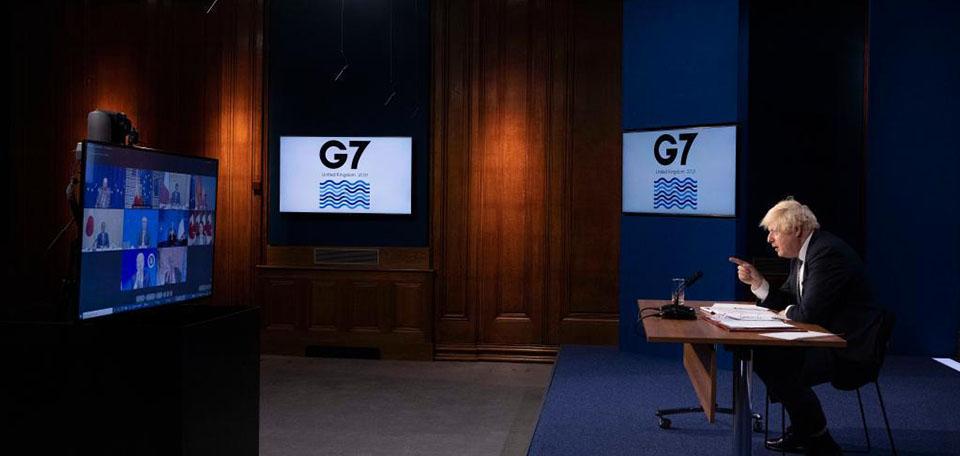 七国集团召开视频峰会讨论阿富汗局势