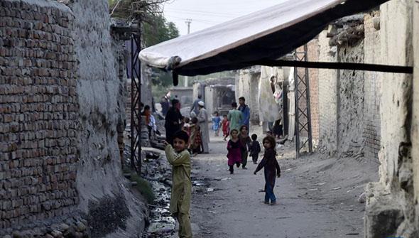 身在巴基斯坦的阿富汗难民