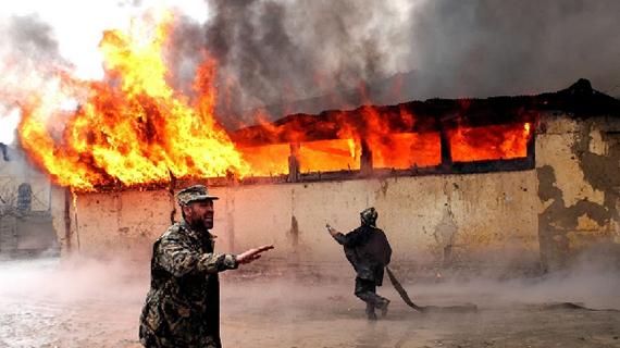全球连线丨新华社镜头里的阿富汗20年