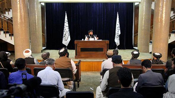 阿富汗塔利班宣布临时政府组成人员