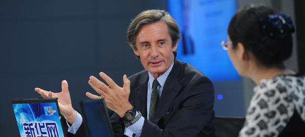 聯合國副秘書長朗斯基接受新華網專訪