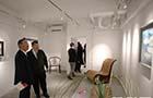著名旅日華人畫家王傳峰美術館在東京銀座落成