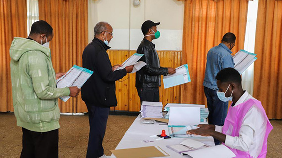 埃塞俄比亞舉行議會選舉
