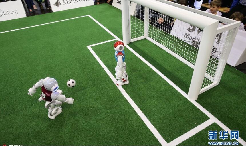 機器人世界杯德國公開賽舉行